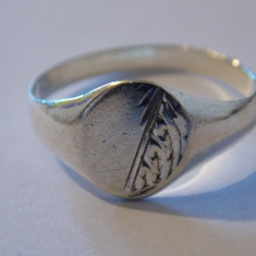 Inel argint vintage - 74