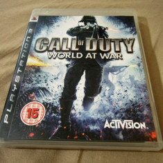 Joc Call of Duty World at War, PS3, original, alte sute de jocuri!