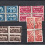 ROMANIA 1944, LP 163 RADASENI BLOC DE 4, MNH, LOT 1 RO - Timbre Romania, Nestampilat