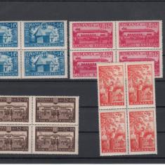 ROMANIA 1944, LP 163 RADASENI BLOC DE 4, MNH,LOT 1 RO
