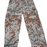 Pantaloni camuflaj danez, XL, Din imagine