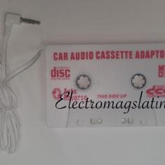 Caseta adaptoare, mp3 player cu mufa Jack pentru Casetofon Auto - Modulator FM auto
