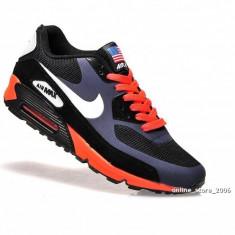 NIKE Air Max Airmax 90 negru orange - Adidasi barbati Nike, Marime: 40, Culoare: Din imagine