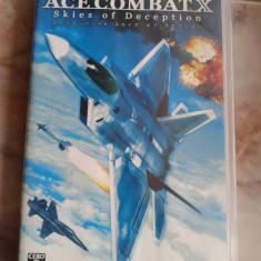 Vand joc PSP, playstation portabil, JAPAN, carcasa, UMD, ACE COMBAT - Jocuri PSP Capcom, Simulatoare, 12+, Single player