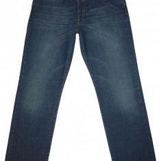 MARLBORO CLASSICS - (MARIME: 36 x 34) - Talie = 96 CM, Lungime = 116, 5 CM - Blugi barbati, Culoare: Albastru, Prespalat, Drepti, Normal
