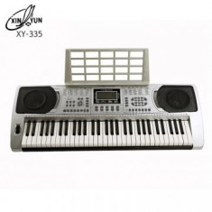 KEYBOARD ORGA PROFESIONALA MODEL 2016, XY335, CU 61 CLAPE, MP3 PLAYER USB, MIDI.NOUA