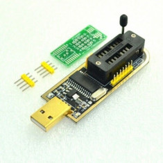 Programator FLASH CH341A USB to TTL SPI 24/25 Series FLASH EPROM 24/25