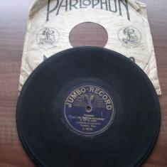 Placa gramofon/patefon - muzica de camera germana - Muzica Ambientala