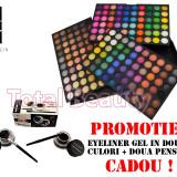 Trusa Machiaj profesionala 180 culori Fraulein38 Stardust + CADOU Eyeliner Gel