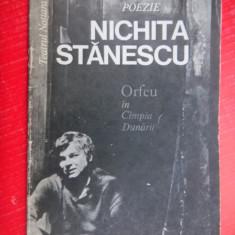 ORFEU IN CAMPIA DUNARII Nichita Stanescu - Carte poezie