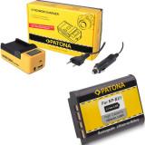 PATONA | Acumulator + Incarcator synchron LCD pt Sony NP-BX1 NPBX1 NP BX1