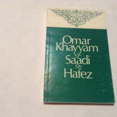 OMAR KHAYYAM SAADI HAFEZ,RF2/1