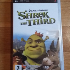 JOC PSP SHREK THE THIRD ORIGINAL / STOC REAL / by DARK WADDER - Jocuri PSP Activision, Arcade, 3+, Single player