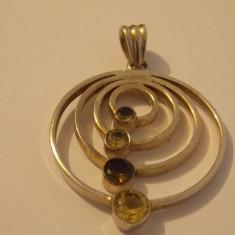 Pandantiv argint cu zirconii - 311