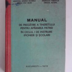 Manualul de pregatire a tineretului ciclul I / R5P5F - Carte Epoca de aur