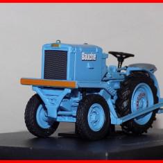 Macheta tractor impingator vagoane BAUCHE -  1957 (scara 1/43) UH, 1:43
