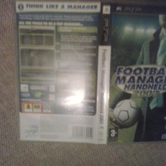 Fotball Manager Handheld 2007 - Joc PSP ( GameLand ) - Jocuri PSP, Sporturi, Toate varstele, Single player