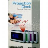 Ceas cu alarma si proiectie ora - Ceas cu proiectie