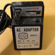 Alimentator Incarcator Universal NG03 3-12V AC 300mA