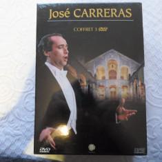 Set 3 DVD - concerte JOSE CARRERAS - muzica clasica - De colectie - Nou, Sigilat - Film Colectie, Altele