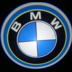 Proiector auto LED LOGO cu marca BMW.Emblema BMW LED CREE 7W-Sigla! - Logo Marca