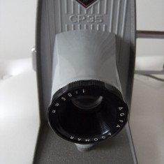 Aparat diapozitive Agfa CP 35, 1958, lentile 85 mm, made in Germany, functional. - Aparat Filmat