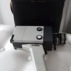 Camera de filmat, veche Agfa Molexoom, made in Germany+geanta piele originala. - Aparat Filmat