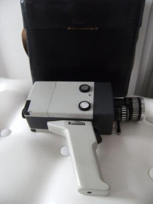 Camera de filmat,veche Agfa Molexoom, made in Germany+geanta piele  originala. foto