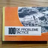 100 DE PROBLEME TACTICE * Culegere - Gh. Grigoras - 1992, 382 p.