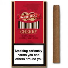 TIGARETE / TIGARI DE FOI Handelsgold CHERRY / CIRESE cigarillos - Tigari foi