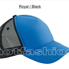 SAPCA, SEPCI TRUCKER cu plasa, Snapback, RETRO, Royal/Black, EXCLUSIV !