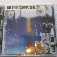 2CD muzica clasica- MOZART, TCHAIKOVSKY, VIVALDI, BACH, BEETHOVEN, etc -Sigilat