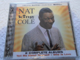 Set 2 CD muzica - NAT KING COLE - Nou,Sigilat