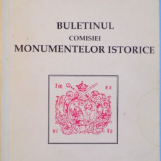 BULETINUL COMISIEI MONUMENTELOR ISTORICE, ANUL I, NR. 1-2, 1990 - Carte Arhitectura