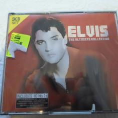 Set 3 CD muzica - ELVIS PRESLEY - 39 piese - De colectie - Nou, Sigilat - Muzica Rock & Roll