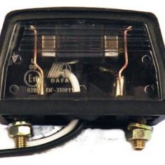 Lampa numar tractor / remorca, Universal