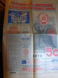 ziarul magazin 8 mai 1971(a-50-a aniversare a partidului comunist roman )