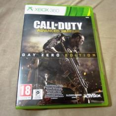 Joc Call of Duty Advanced Warfare day Zero Edition, xbox360, original! - Jocuri Xbox 360, Shooting, 18+, Single player