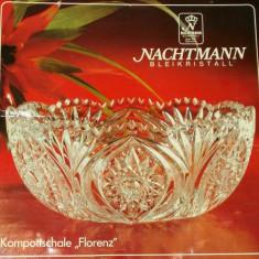 Centru masa / Fructiera / Bol - Cristal - Nachtmann - NOU !!! - Bol sticla
