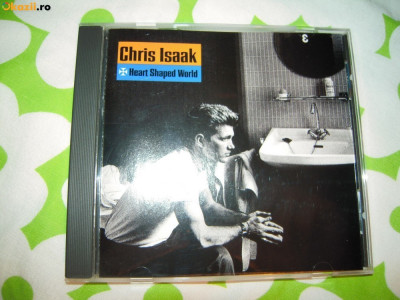 CD muzica original Chris Isaak (Heart Shaped World) - 1989 Stare perfecta foto
