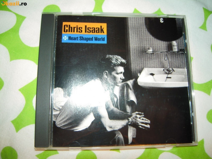 CD muzica original Chris Isaak (Heart Shaped World) - 1989 Stare perfecta
