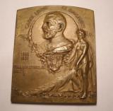 Medalie Regele Carol I Expozitiunea Generala din Romania 1906 ART NOUVEAU