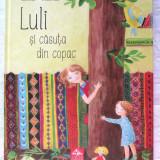 """""""LULI SI CASUTA DIN COPAC"""", Iulia Iordan, 2015. Absolut noua - Carte de povesti"""