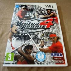 Virtua Tennis 4, pentru Wii, original, PAL, alte sute de jocuri - Jocuri WII Sega, Sporturi, 3+, Multiplayer