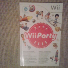 Manual - Wii PArty - 200 pag ( GameLand )