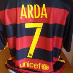 TRICOU ARDA TURAN FC.BARCELONA SEZON 2015-2016 MARIMI M SI L - Tricou echipa fotbal, Marime: L, M, Culoare: Din imagine, De club, Maneca scurta