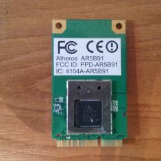 Wireless Atheros AR5B91 Wireless PCIe Mini Card Intel