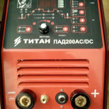 Aparat sudura aluminiu , TIG AC/DC 200A curent alternativ si continuu