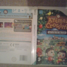 Animal Crossing - Let's go to the city - Joc Wii (GameLand ) - Jocuri WII, Actiune, 3+, Single player