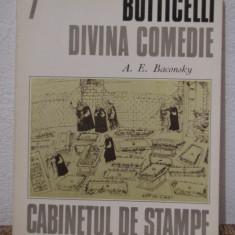 BOTTICELLI -DIVINA COMEDIE de A.E. BACONSKY - Album Arta
